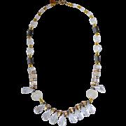 Hobe' '50's Lucite Necklace