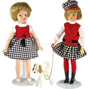 SOLD Ideal Pepper Hyland Fling and Horsman Peggy in Original Clone Copycat Outfit