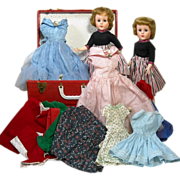 1950's Valentine Doll Trunk Sets from Sisters Collection