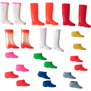 Mod Francie and Skipper Boots by Mattel