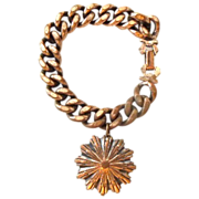 SALE Heavy Substantial Copper chain and charm