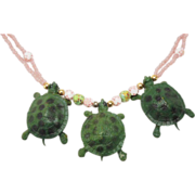 Crazy Turtle Necklace