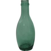 Vintage Perrier Glass stamped Glass bottle