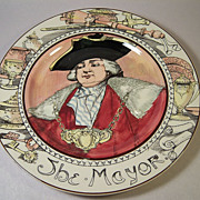 Vintage Royal Doulton-The Mayor-Professional Series 3rd Firing
