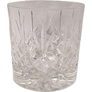 Edinburgh Scottish Crystal Lomond Pattern Old Fashion Tumbler