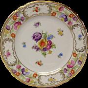 Schumann Empress Dresden Flowers Bread & Butter Plate