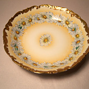 T&V Limoges Daisy Chain Large Individual Fruit Bowl