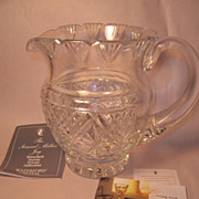Waterford Society Crystal Samuel Miller Jug