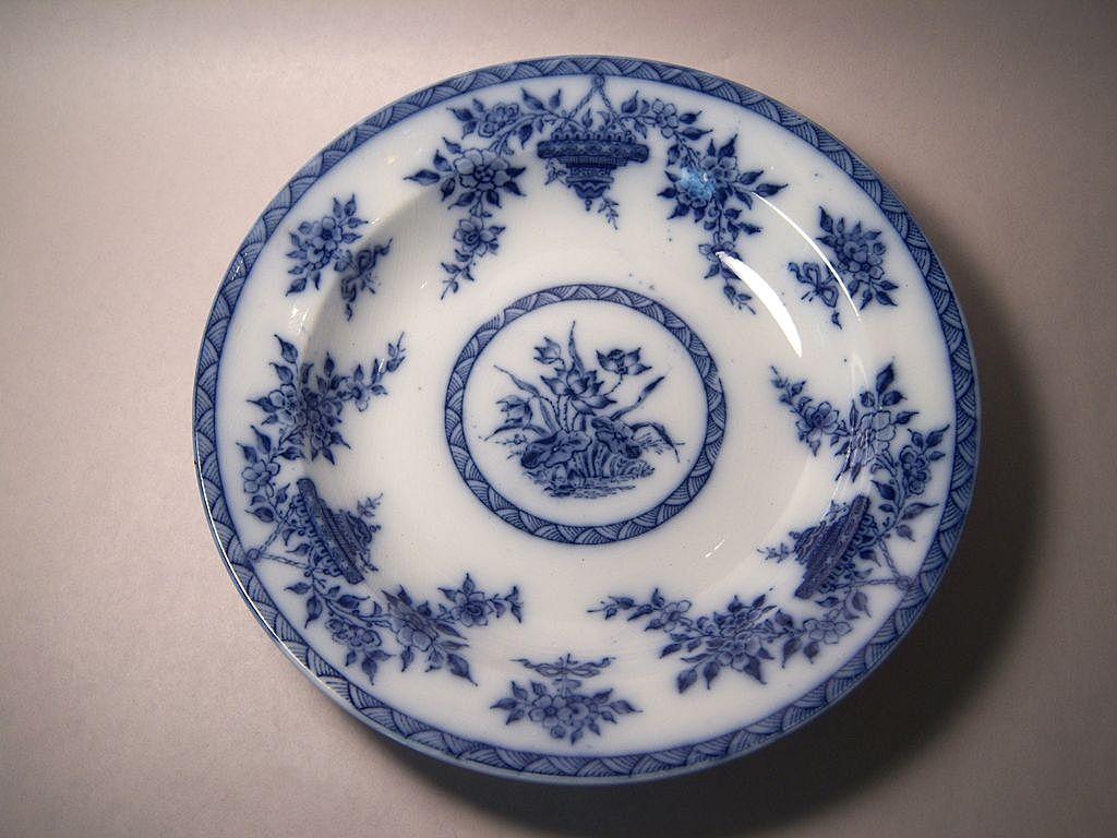 Furnival BOMBAY Flow Blue Soup Bowl