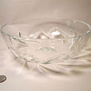 Beautiful Baccarat Constantine Pattern Fruit Seerving Bowl