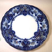 Lovely Wood & Son Seville Flow Blue Dessert Plate