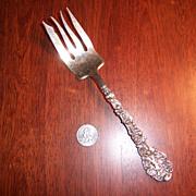 """Gorham Versailles 8 1/4"""" Meat Fork"""