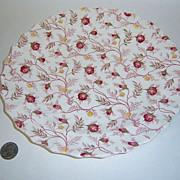 Vintage Spode Rosebud Chintz Dinner Plate