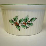 "Spode ""Christmas Tree"" Ramekin"