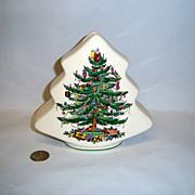 """Spode """"Christmas Tree"""" Tree Bank"""