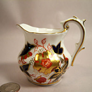 Royal Crown Derby Asian Rose Tiny Creamer Chelsea Shape