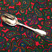 Christofle Cluny Silver Plate OC Mark  Tea Spoon