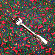 Christofle Cluny Silver Plate OC Mark Oyster Fork