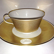 Royal Berlin, KPM Gold Rim Arcadia Cup & Saucer