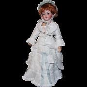 Simon Halbig Antique German Lady Doll # 1159 - 17 inch-A MODERN TWIST!!!