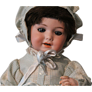 """Antique German bisque """"character"""" baby doll - 12.5 inches - orig. body finish - Marked - G-327-B/A 2 M/D.R.G.M 259"""
