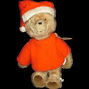 Vintage Paddington Bear stuffed teddy OLD 1975 LARGE teddy bear Eden toys