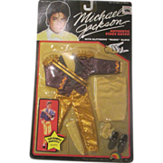 Michael Jackson doll outfit GRAMMY Awards outfit MOC 1984