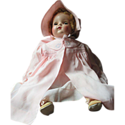 "23"" Bitsey by Madame Alexander Fabulous baby doll ALL ORIGINAL 1952"