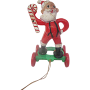 E. Rosen Santa Claus Vintage pull toy from the 1950's