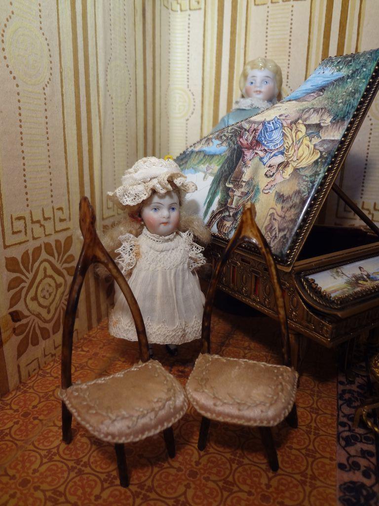 Doll House Wishbone Chairs