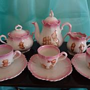 SALE Kewpie Porcelain Tea Set from Germany