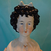 Rare Bisque Limbaugh Doll Fancy Hairdo Molded Bodice