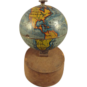 Miniature World Globe on Stand