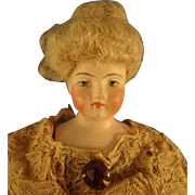 Doll House Lady with Fancy Up-do Wig Gibson Girl Style