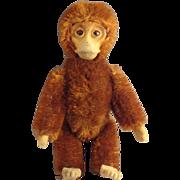 Brown Schucco Monkey with Swivel Head