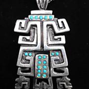 SALE Salvador Teran Aztec/Mayan Necklace