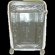 SALE Vintage Sterling Arts & Crafts Match Safe by Wallace
