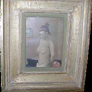 SALE Alexander Brook (1898-1980) Oil on Canvas Nude
