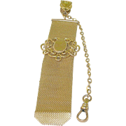 SALE Victorian Watch Fob Gold Filled