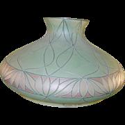 SALE Art Deco Handel Co Lamp & Shade