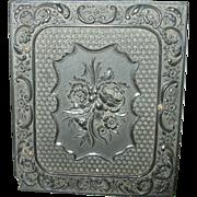 SALE Antique Daguerreotype Gutta Percha Case