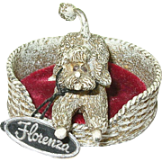 SALE Vintage Florenza Pin Cushion