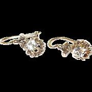 SALE Victorian 14kt Drop Earrings