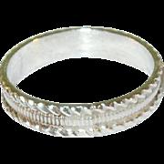 SALE Vintage Sterling Silver Ring