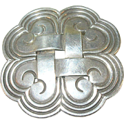 SALE Vintage Sterling Silver Hector Aguilar Pendant/Brooch