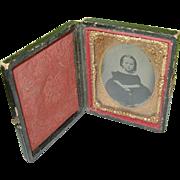 SALE Daguerreotype  Child's Portrait & Case