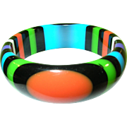 SALE Carlos Sobral Resin Bangle Multicolored