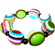 SALE Carlos Sobral of Brazil Bead Bracelet Multicolored
