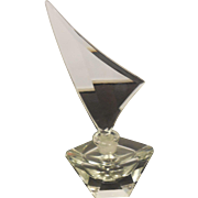Crystal Perfume Bottle with Stopper