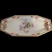 Royal Rudelstadt Prussia Porcelain Celery Dish - Marked